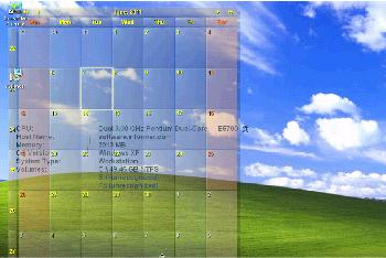 interactive desktop calendar wallpaper - photo #3