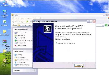 INTO PDF FILE CONVERT VCE