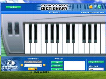 Keyboard Chord Dictionary 1.0 Download (Free trial ...