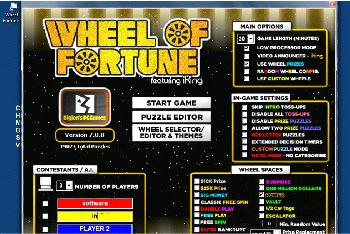 wheel of fortune super deluxe 7.0 download (free) - onplay.exe, Powerpoint templates
