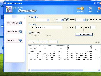 Ascii generator file download