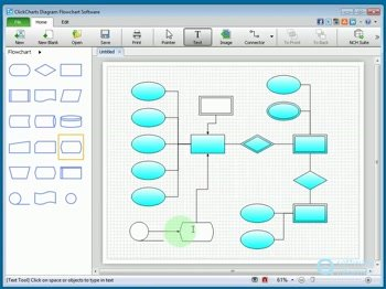 ClickCharts Diagram & Flowchart Software Download (clickcharts.exe)