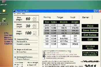 Easton Shaft Selector 2011 Download (ssp2k11 exe)