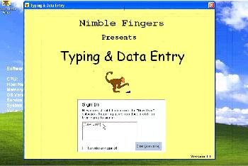 Typing & Data Entry Download Free Version (TypingDataEntry exe)