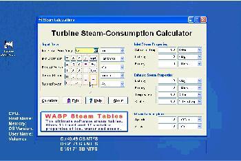 Turbine Steam-Consumption Calculator 2 4 Download (Free) - calc exe