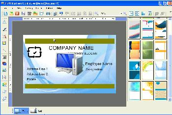 videos and screenshots - Business Card Maker Software