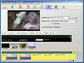 Free Video Cutter Expert is a powerful, multilingual and versatile video cutter that you can use to easily cut videos into one or more segments. It is absolutely free and with it you can remove undesired parts such as trailer or advertisements from video or you can also split videos into equal parts or split...