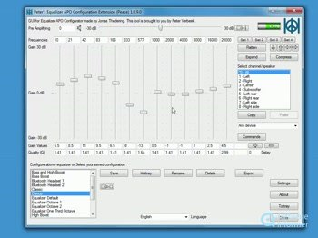 Peace, GUI for Equalizer APO - Software Informer  You can